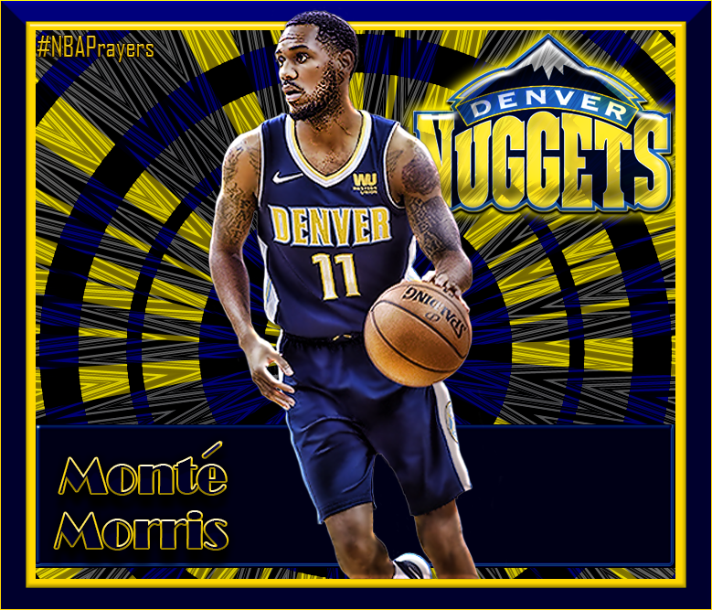 cheaper 93fad 2d899 NBA Player Edit - Monte Morris | Nuggets - NBA Players ...