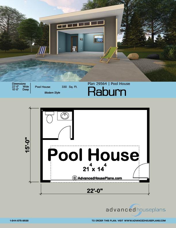 Pool House Plan Raburn Pool House Plans Pool Houses Pool House