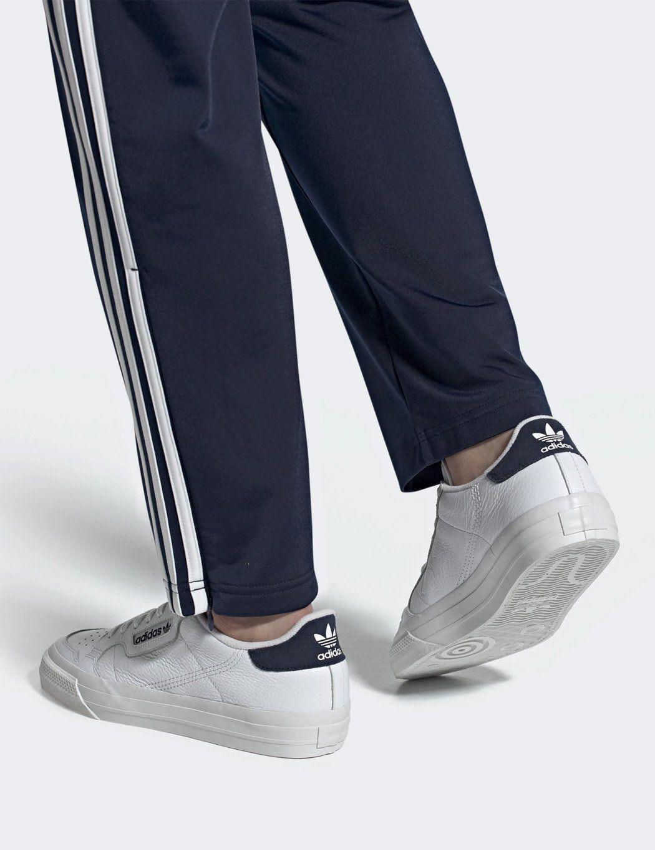 Adidas Continental Vulc Shoes Eg4589 Off White Core Black Adidas