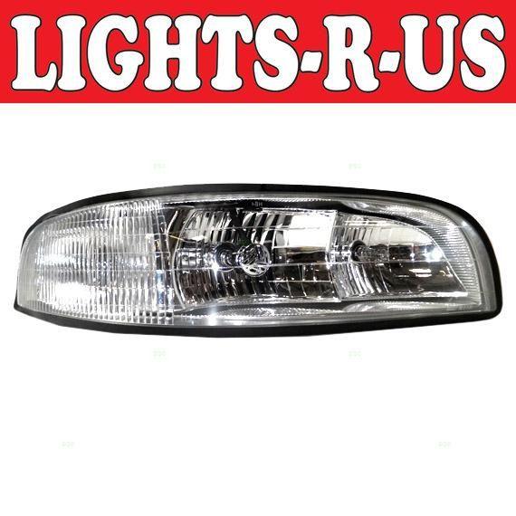 Lights R Us Buick Lesabre Headlight Without Corner Lamp 2 Bulb Type Rh Right Passenger 1997 1998 1 Bmw 3 Series Sedan Bmw 3 Series