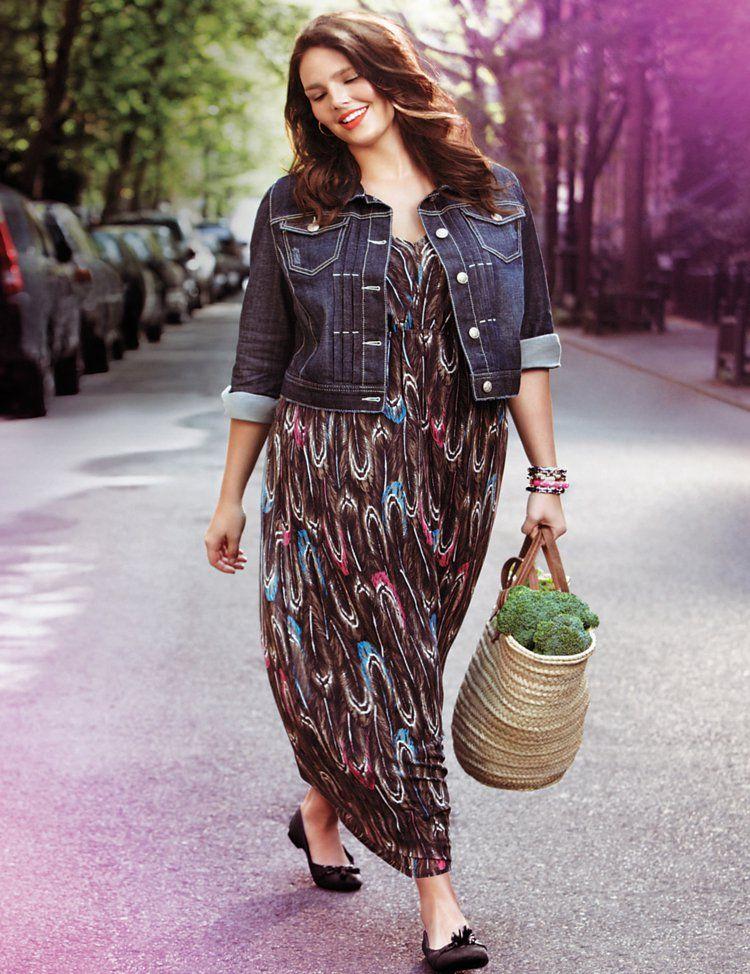 watch 76ed3 85222 Kleider in großen Größen: elegante Mode für kurvige Damen ...