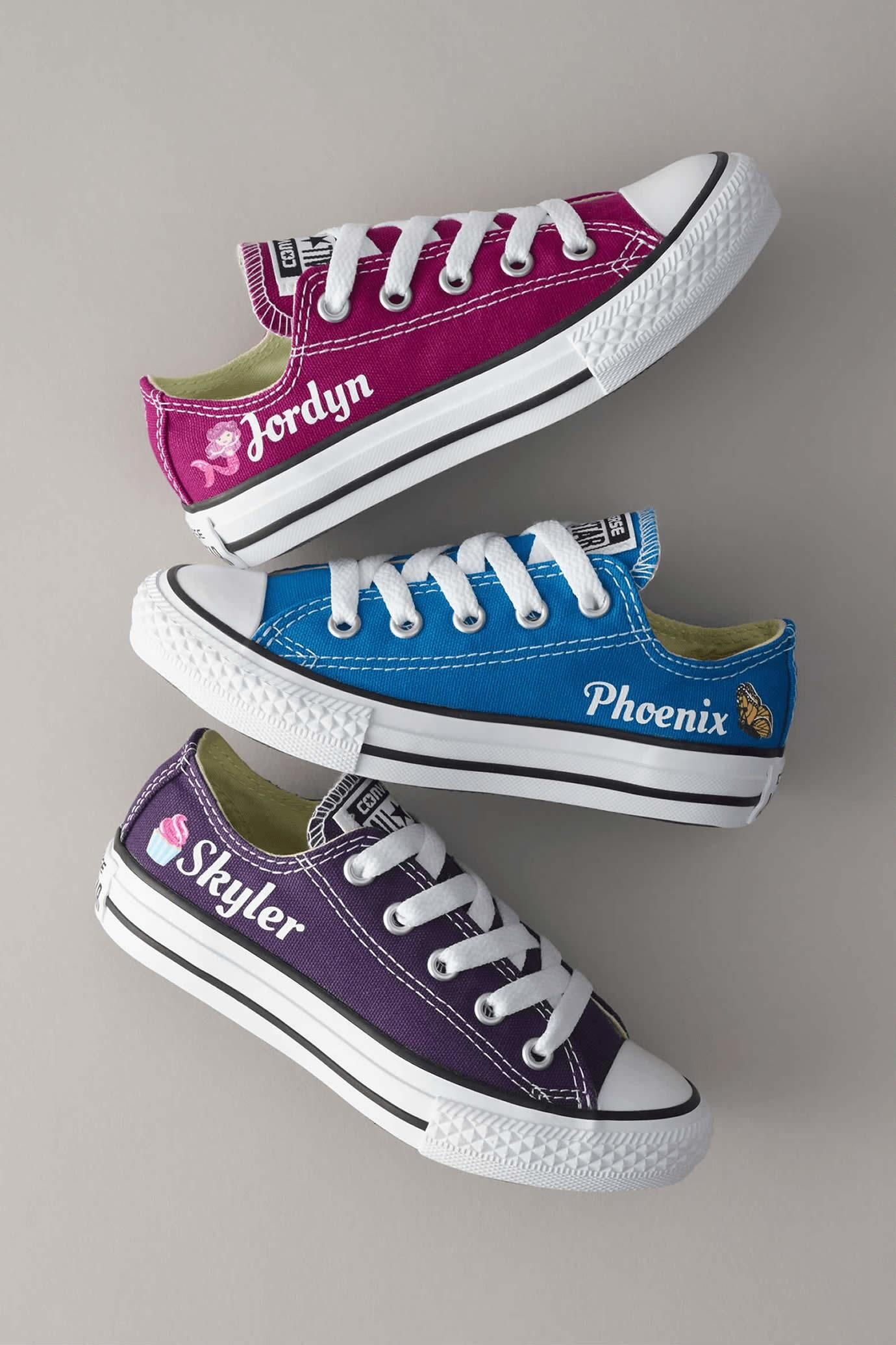 Customize your own chuck taylors from converse with your