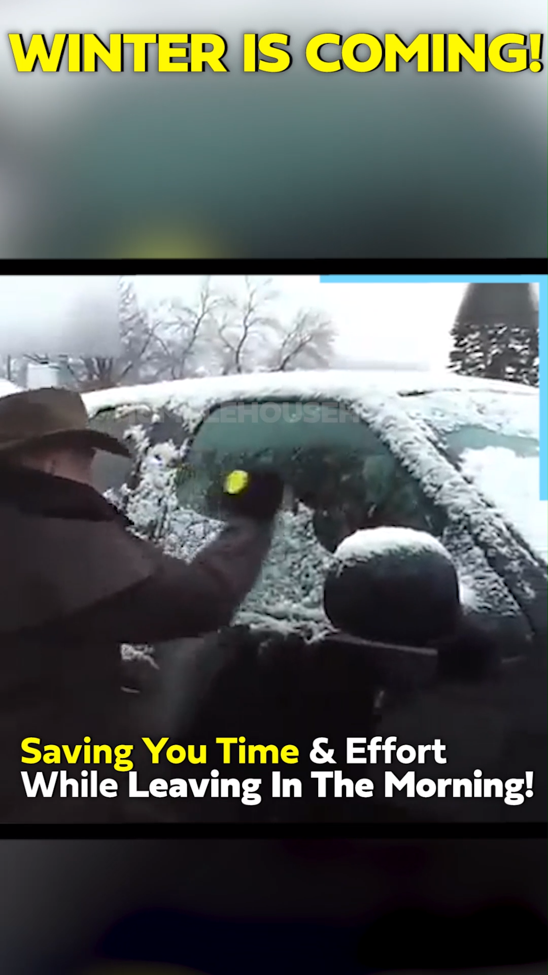 ❄️Winter Is Coming, Save Time Scraping!