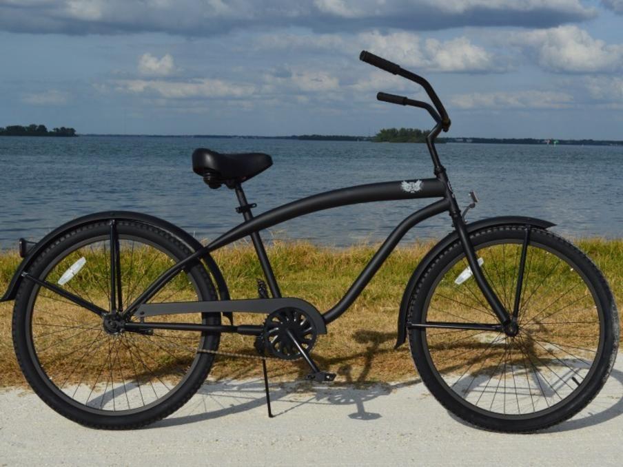 Sikk Quality Bicycles Custom Beach Cruisers Fat Tire Cruiser Bike