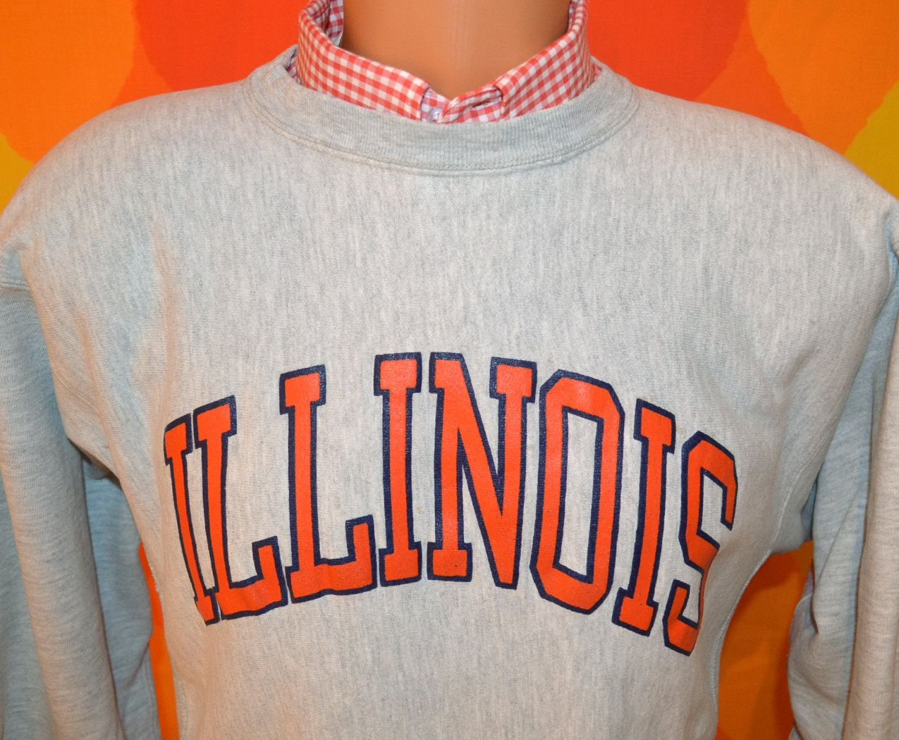 80s Vintage Sweatshirt University Of Illinois Illini Chief Etsy Sweatshirts Vintage Sweatshirt Vintage Crewneck Sweatshirt [ 1050 x 1275 Pixel ]