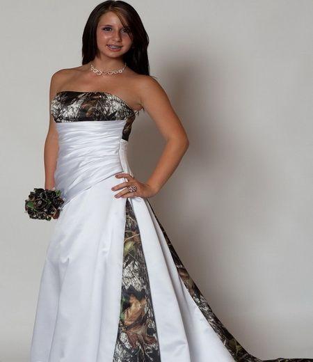 Country Weddings Etsy Wedding Dresses Camo
