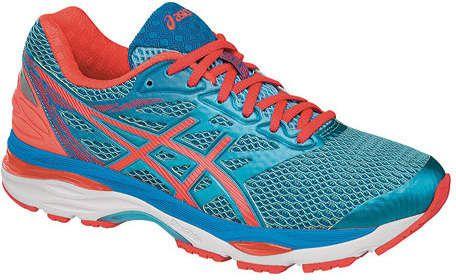 outlet store 6f03f f85f5 Asics Women s GEL-Cumulus 18 Running Shoe - Aquarium Flash Coral Blue Jewel Running  Shoes