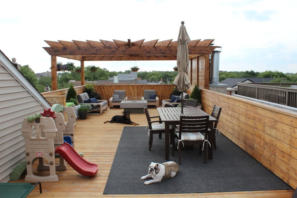 Building A Chicago Rooftop Deck Page 7