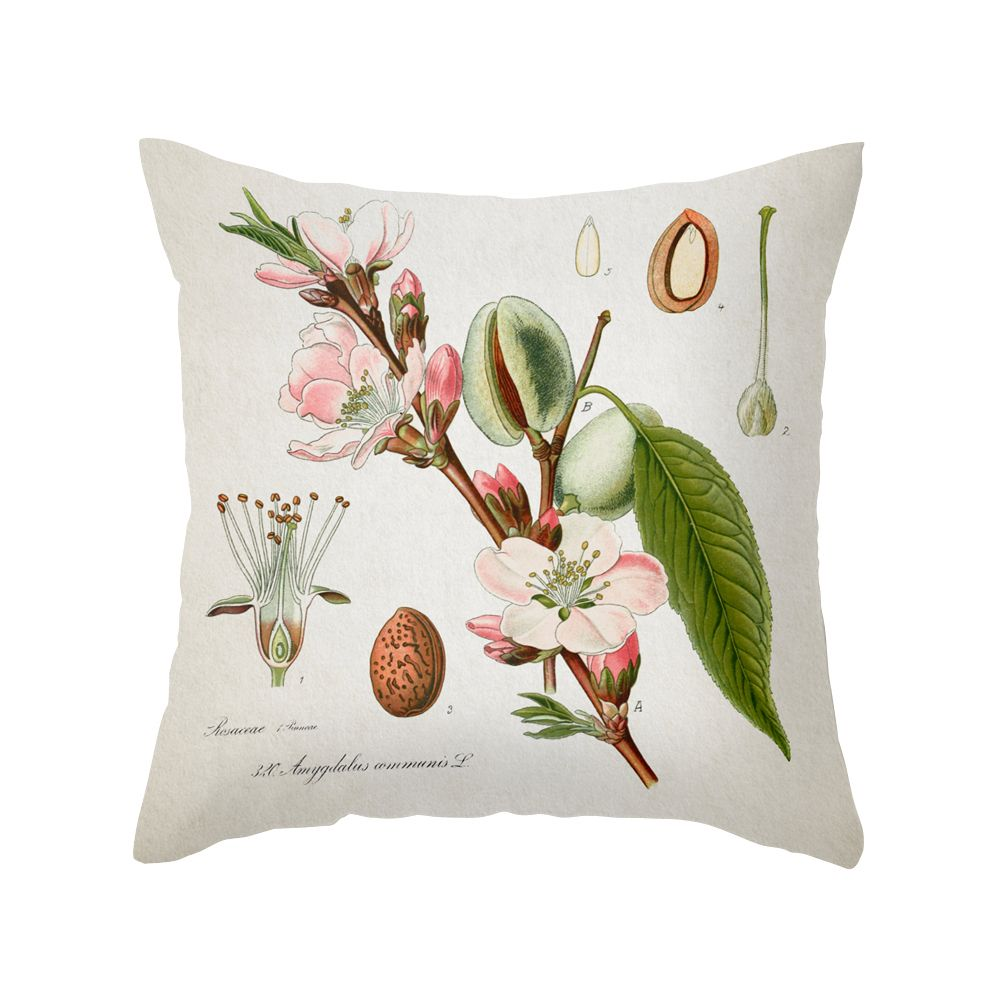 This delightful pillow features a soft, delicate print in pleasing colors that will highlight…