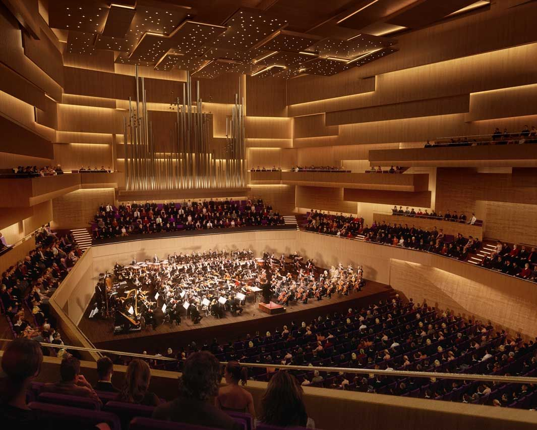Concert Hall Design Siansa National Concert Hall