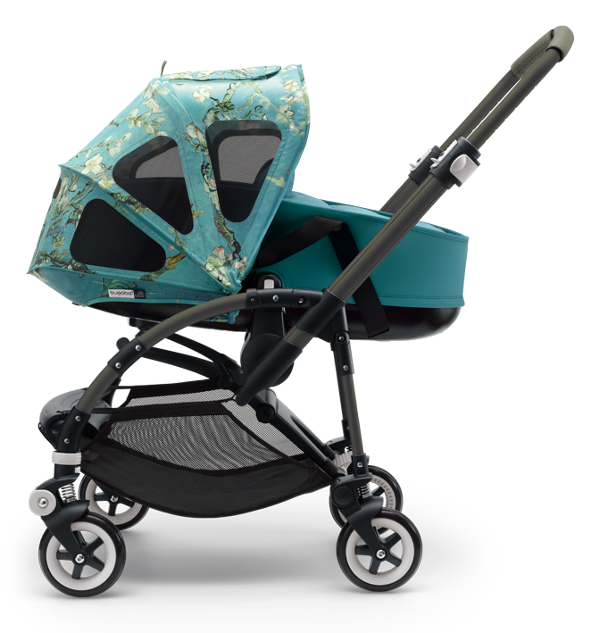 Van Gogh collaboration with Bugaboo Bugaboo bee stroller