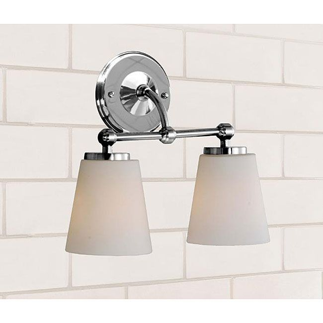 Chrome bathroom double sconce client s moffat st pinterest chrome bathroom double sconce aloadofball Choice Image