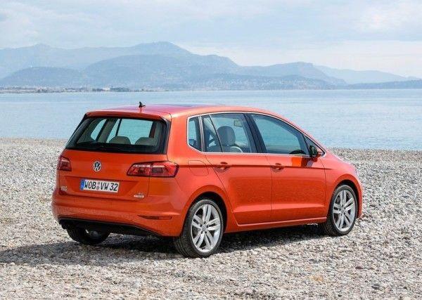 2014 Volkswagen Golf Sportsvan Full Review With Images 2014