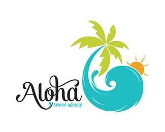 ALOHA TRAVEL AGENCY Logo Design