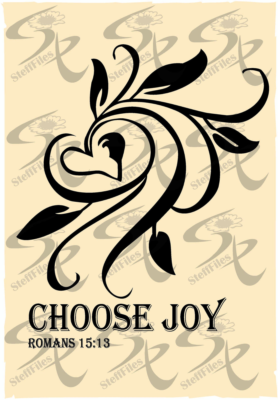 Download Vector CHOOSE JOY Heart clipart SVG,dxf,ai,png,eps,jpg ...