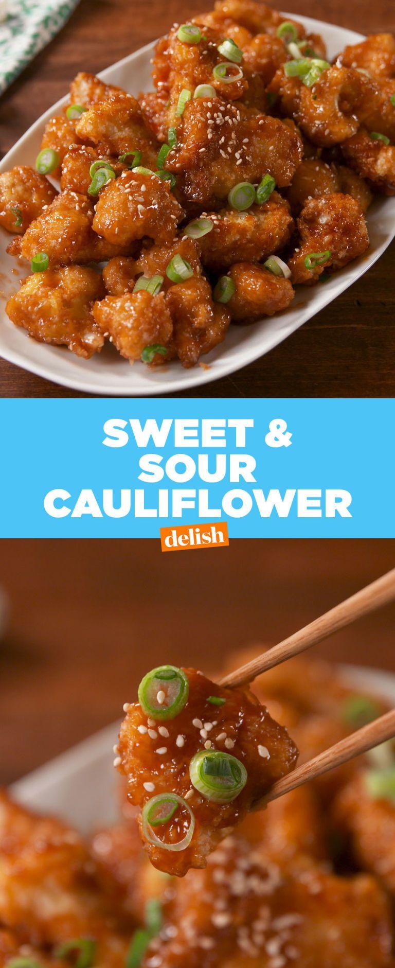 Photo of Sweet & Sour Cauliflower