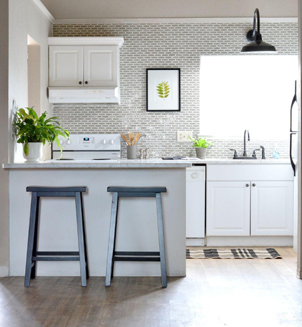 77 Stunning Geometric Backsplash Tile Kitchen Ideas | Kitchens ...
