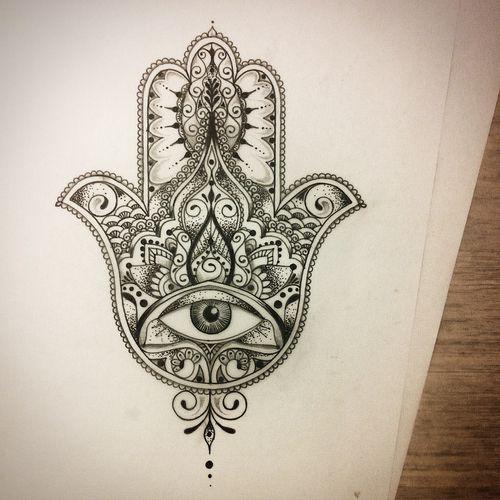 We Heart It Tatuaje De Mano Hamsa Tatuajes Del Mal De Ojo Tatuaje De Mano De Fatima