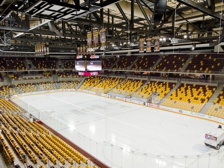 Amsoil Arena Receives Top Ranking From Stadium Journey College
