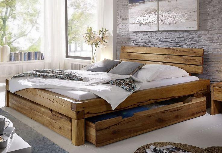 Pin Von Sydney Royale Auf Living Space Bett Holz Bett Massivholz Bett Eiche