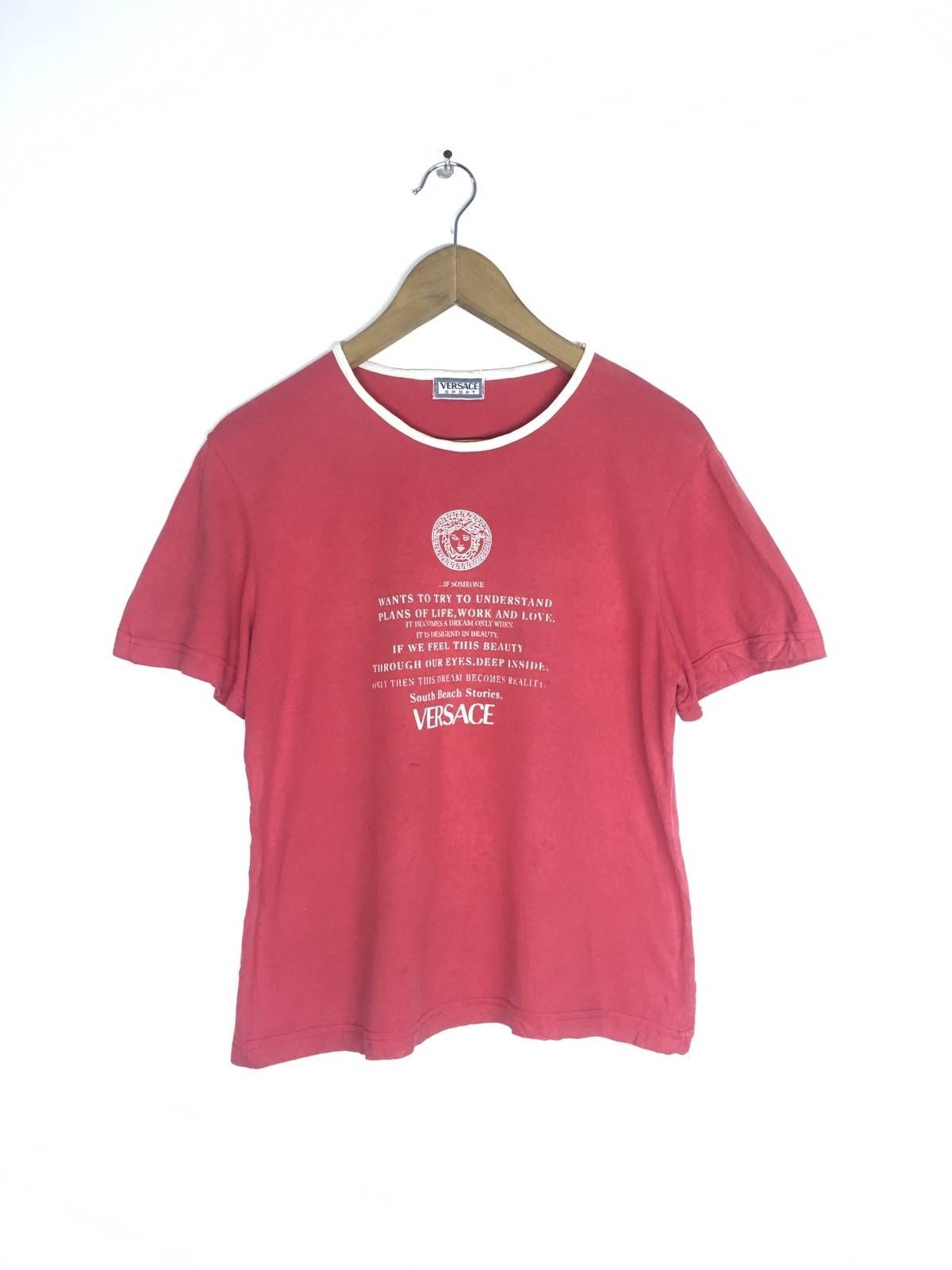 4be5d14d Vintage Versace Sport T Shirt Small in 2019 | clothes n stuff | Mens ...