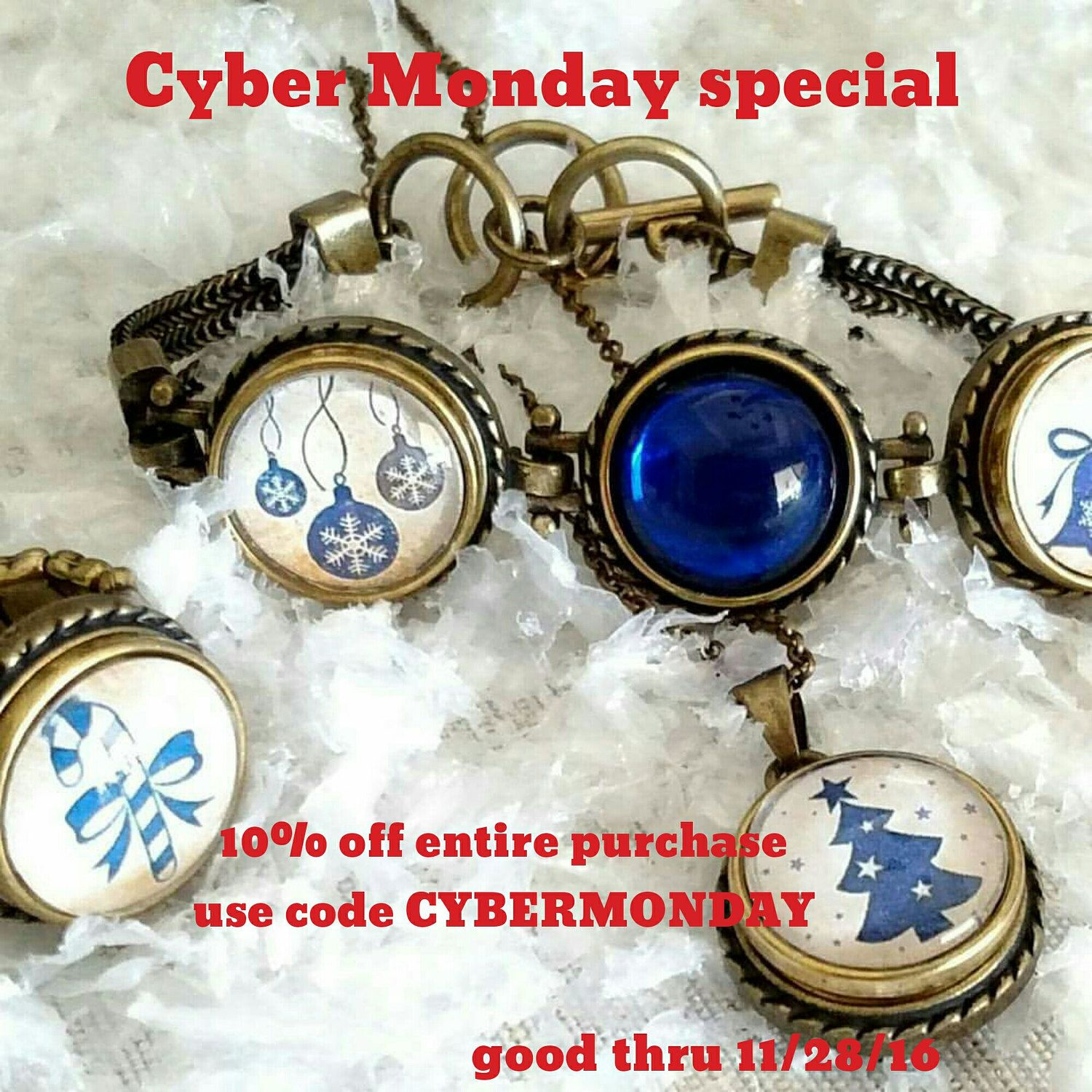 Cyber Monday special. 10% off entire purchase. Use code ...