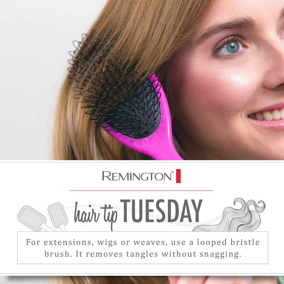 Make Brushing Easy For Wigs Weaves And Extensions Hair Tips And
