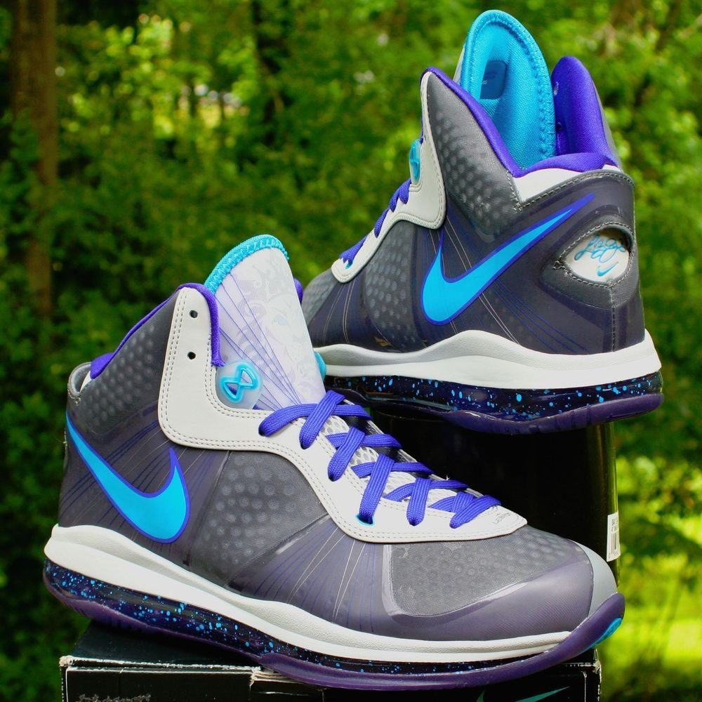 662b5080ca24 Nike LeBron 8 VIII Summit Lake Hornets Men s Shoes SKU  429676-001 Size  10.5…