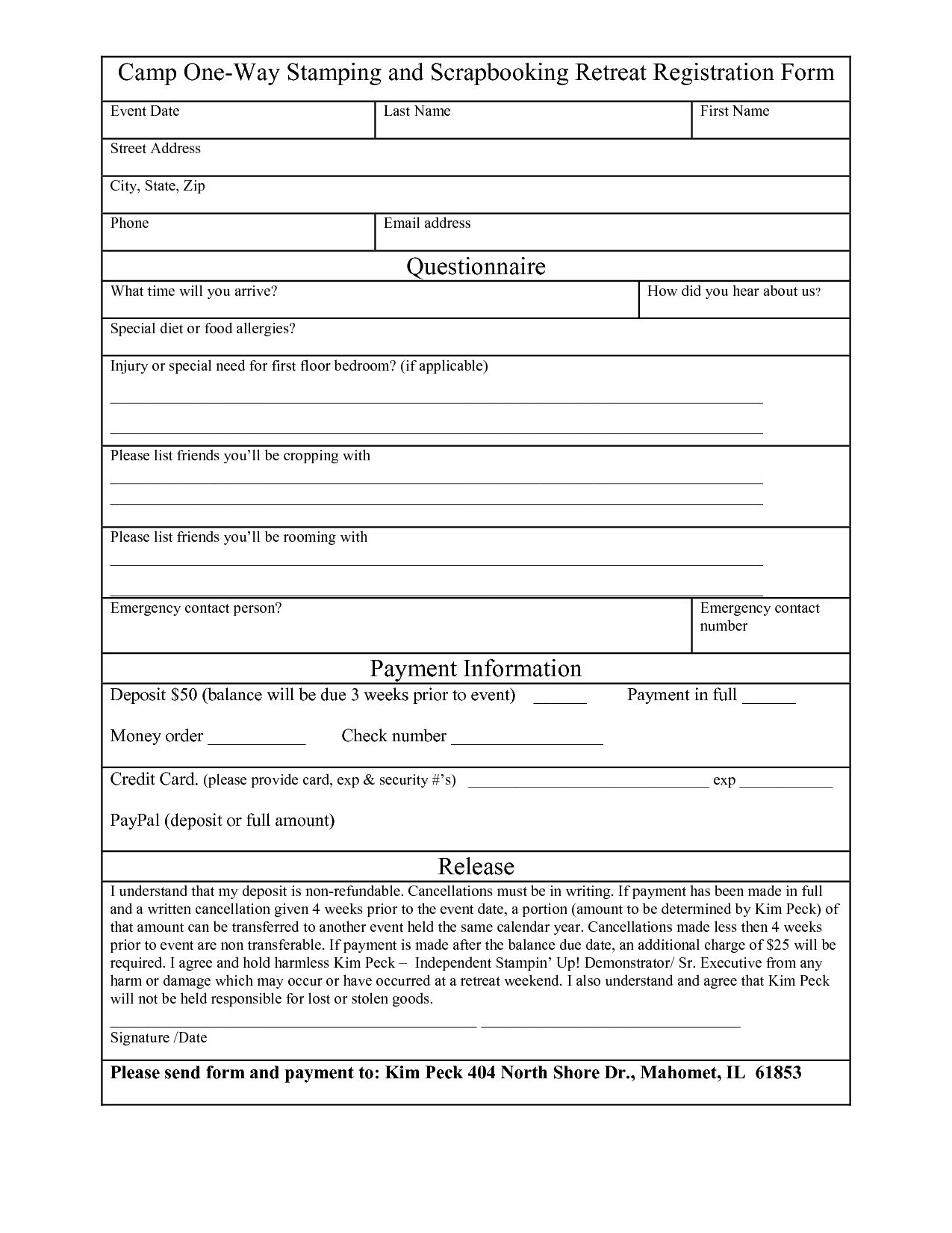 The Surprising Free Registration Form Template Word Want A Free Refresher In Camp Registration Form Template Registration Form Word Template Event Registration Registration form template free download