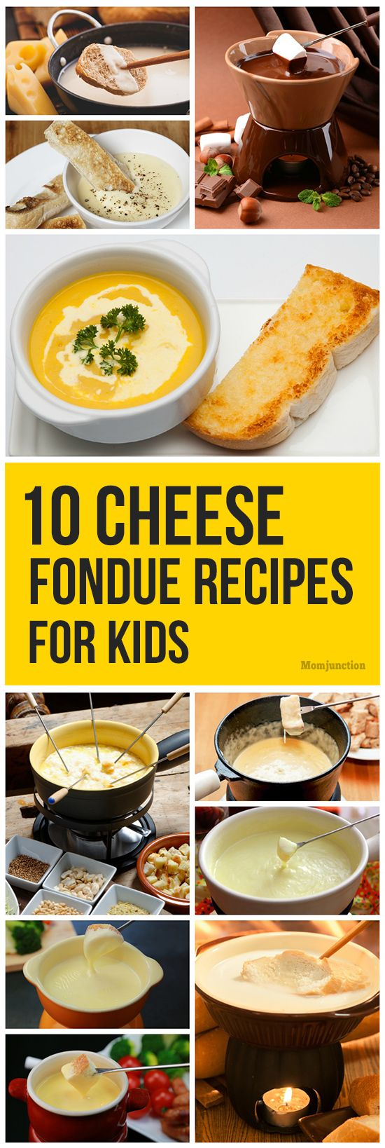 Top 10 Cheese Fondue Recipes For Kids To Try #fondueideas