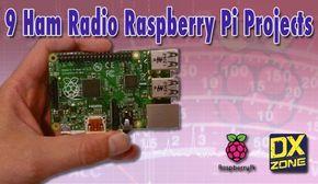 9 ham radio raspberry pi projects | raspberry pi | Ham radio