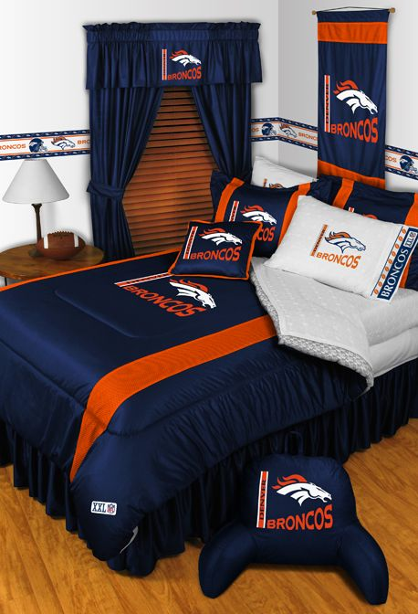 Denver Broncos Bedroom Ideas Cool Decoration