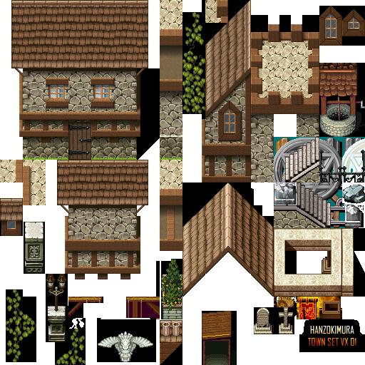 RPG Maker Community; Valkyrie Stories Tileset …