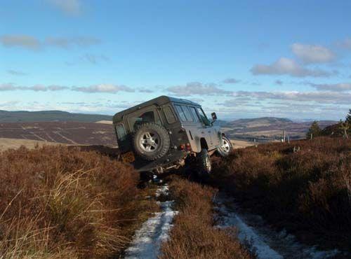 4x4 off road Scotland