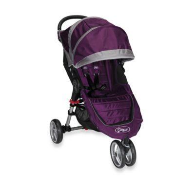 Baby Jogger™ City Mini™ Single Stroller in Purple/Grey ...