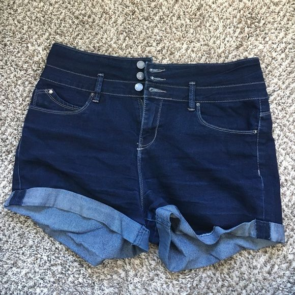 JEAN SHORTS Size 15 YMI jean shorts.. Used but in almost perfect condition! :) YMI Shorts Jean Shorts
