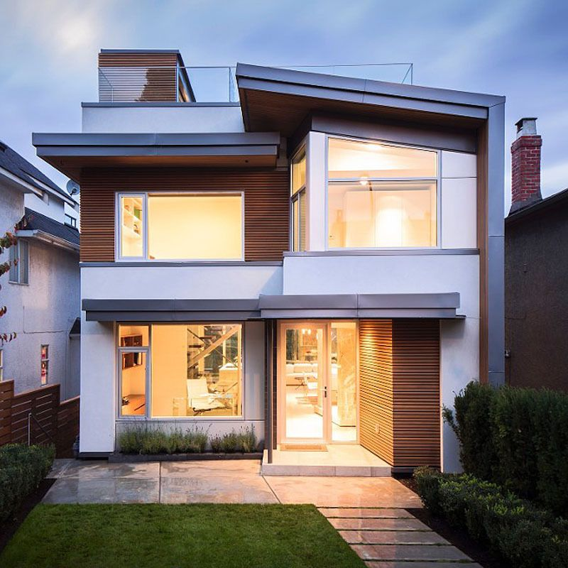 Modern Brick And Stucco House Images 800x800