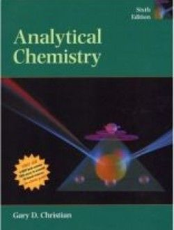 Analytical Chemistry Books Pdf