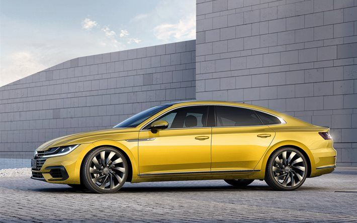 Volkswagen Arteon, luxury cars, 2018 cars, supercars, Volkswagen
