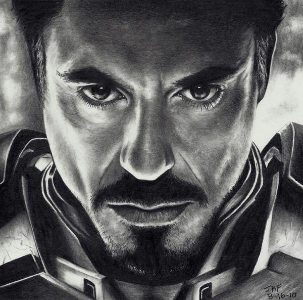 Iron Man -  desenho sensacional *-*