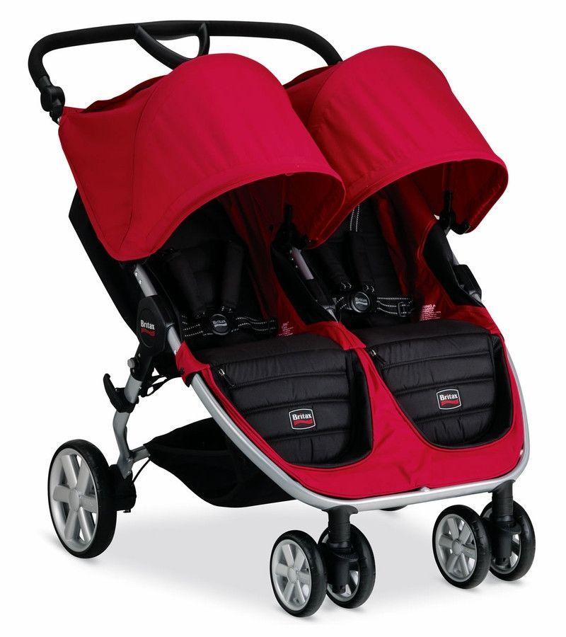 Britax 2016 B Agile Double Stroller Double strollers