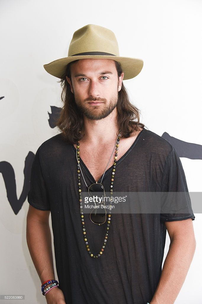 Musician Zander Bleck at Paradise House Presented By Interview Hosted By Susan Holmes-McKagan on April 17, 2016 in Palm Springs, California.
