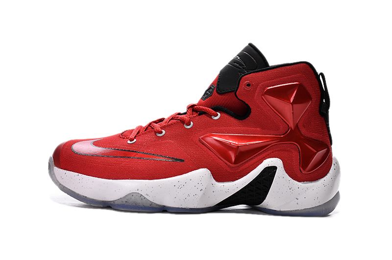 finest selection a3983 7679b 2016-2017 Sale Lebron 13 XIII Hyper Crimson White Silver 807219 106 New  Arrival 2016