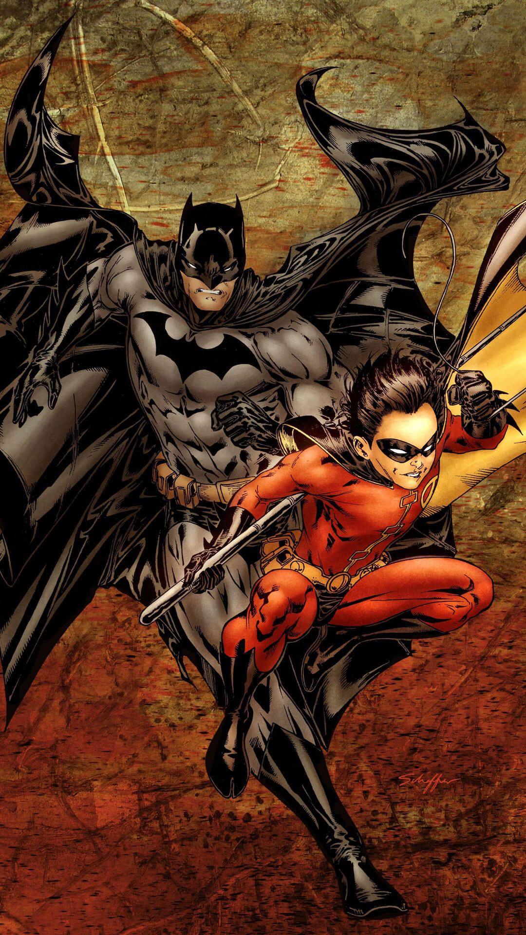 Batman And Robin Batman Comics Batman Wallpaper Batman And Superman