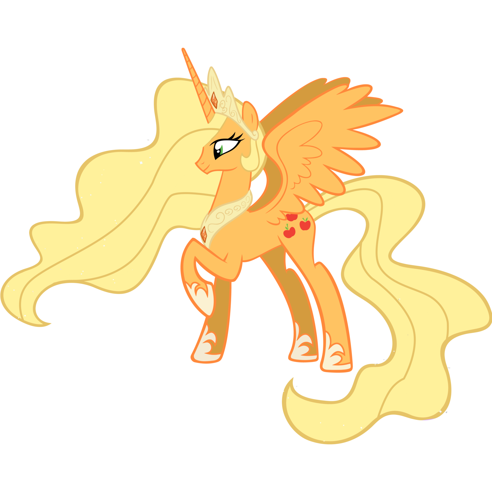 My little pony princess applejack princess applejack - Princesse poney ...