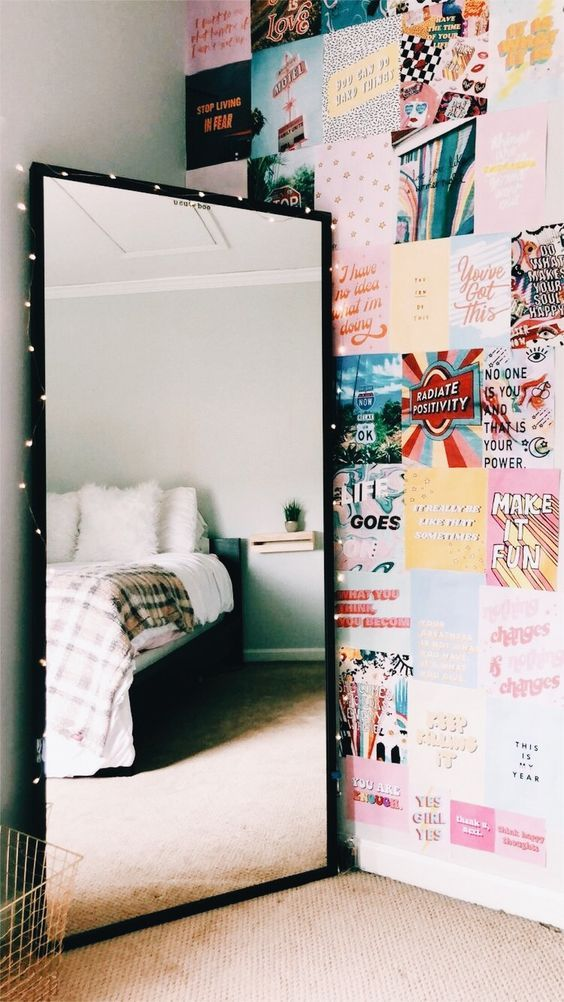 DIY Bedroom Decor Ideas on a Budget - Mirrors images
