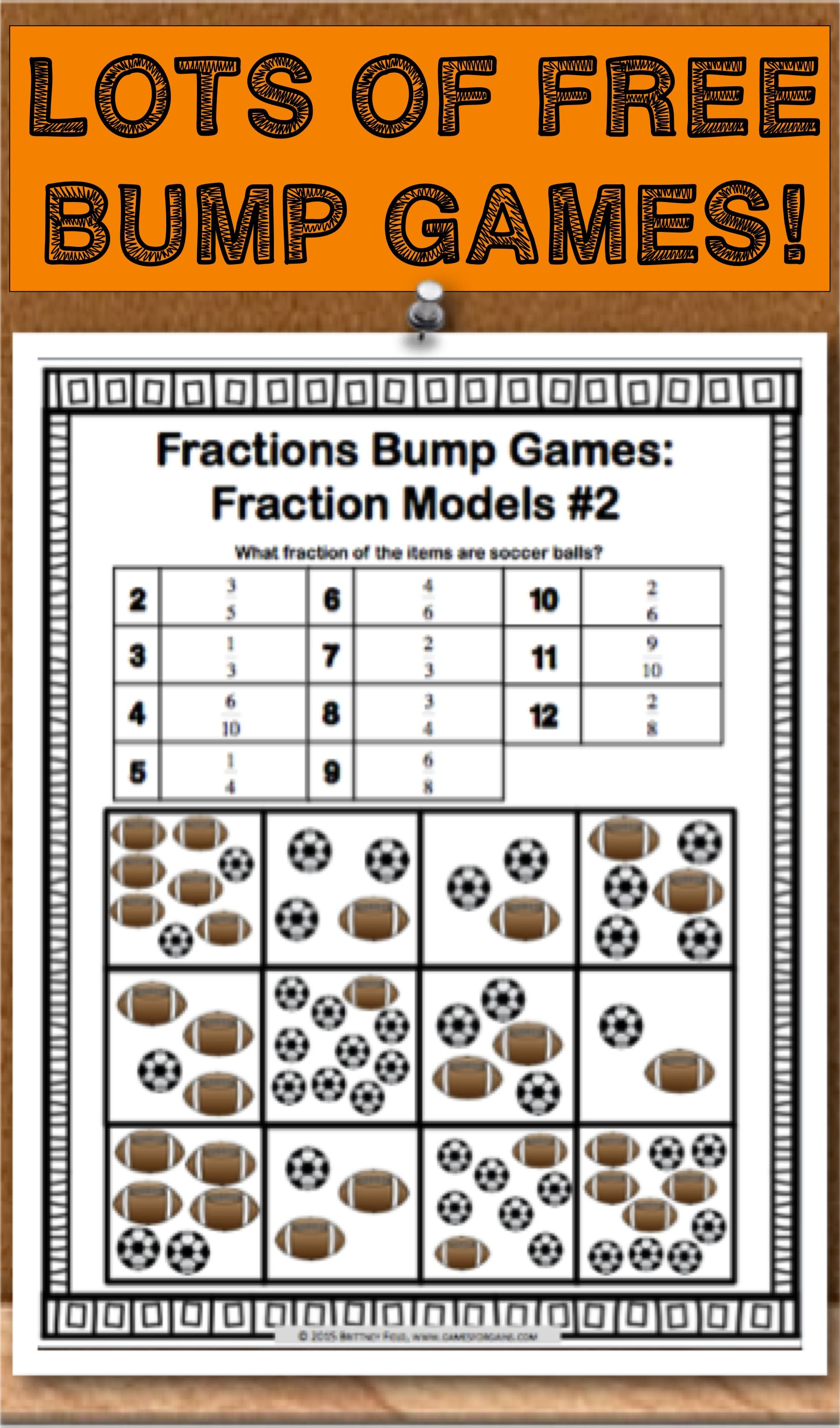Get This And 11 Other Fraction Bumps Games As An Exclusive Freebie When You Subscribe To The