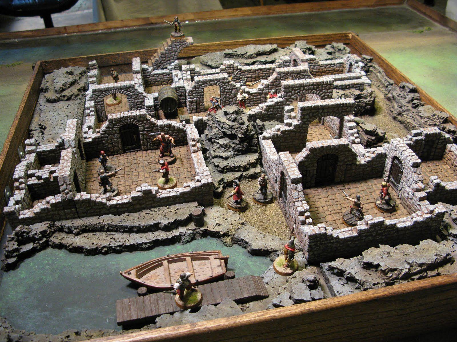 Plastic Legions: Skirmish Battle Board- Done! | Game Terrain