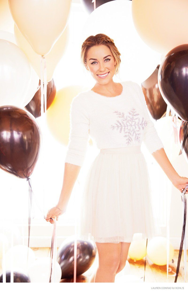 Lauren Conrad is Ready for a California Christmas in New Kohl\'s ...