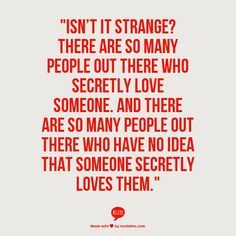 secret love quotes - Google Search